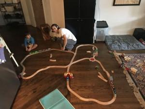 Circle train!