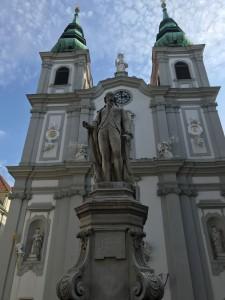 Statue of Joseph Haydn