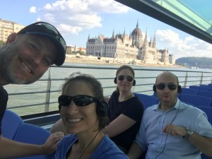Boat tour! Parliament in the background