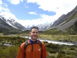 Ryan in Hooker Valley